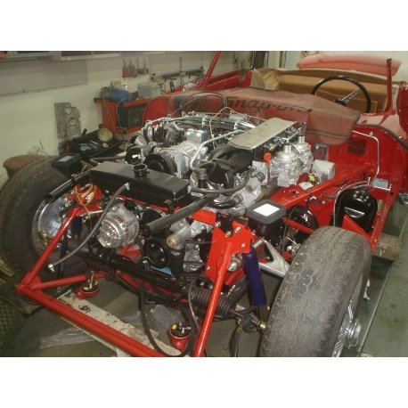 Jaguar E-type opbouwen