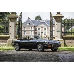 Jaguar E-type 12-cilinder gerestaureerd